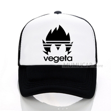 vegeta Baseball Caps Men women summer trucker cap unisex outdoor leisure Mesh hat snapback cap cool 2017 new fashion snapback caps men women baseball cap for women men summer outdoor sports hat adjustble cap free shipping