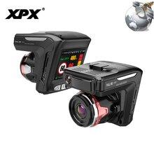 XPX G565-STR Car DVR 3 in 1 Dash cam Rear View Camera Radar detector GPS Full HD 1080P G-sensor Dashcam Car camera Car DVR