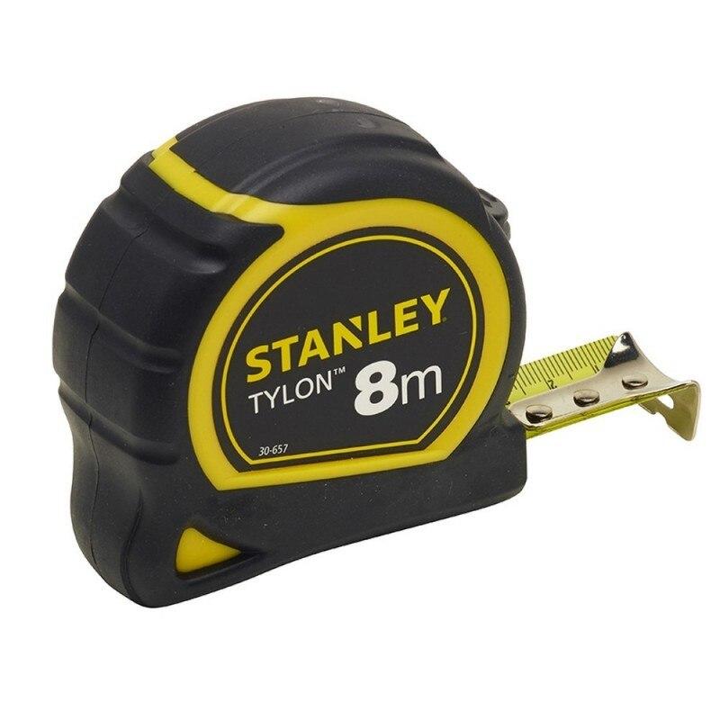 STANLEY 1 30 657 flexometro TyLon TyLon 8 m x 25mm|Tape Measures|   - title=