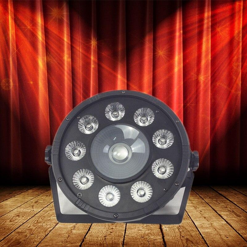9x3W LED Par Light  30W COB Parcan DJ wash stage lighting effect