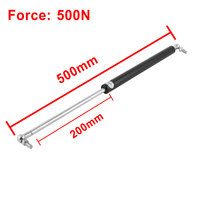 UXCELL 500N Froce Ball Joint Lift Support Gas Spring Rod Strut 500Mm Length