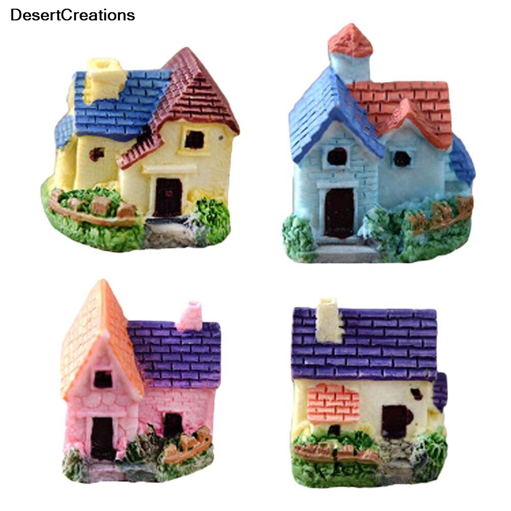 Miniature Fairy Garden Ornament Woodland Fairy Cottage Fairy House