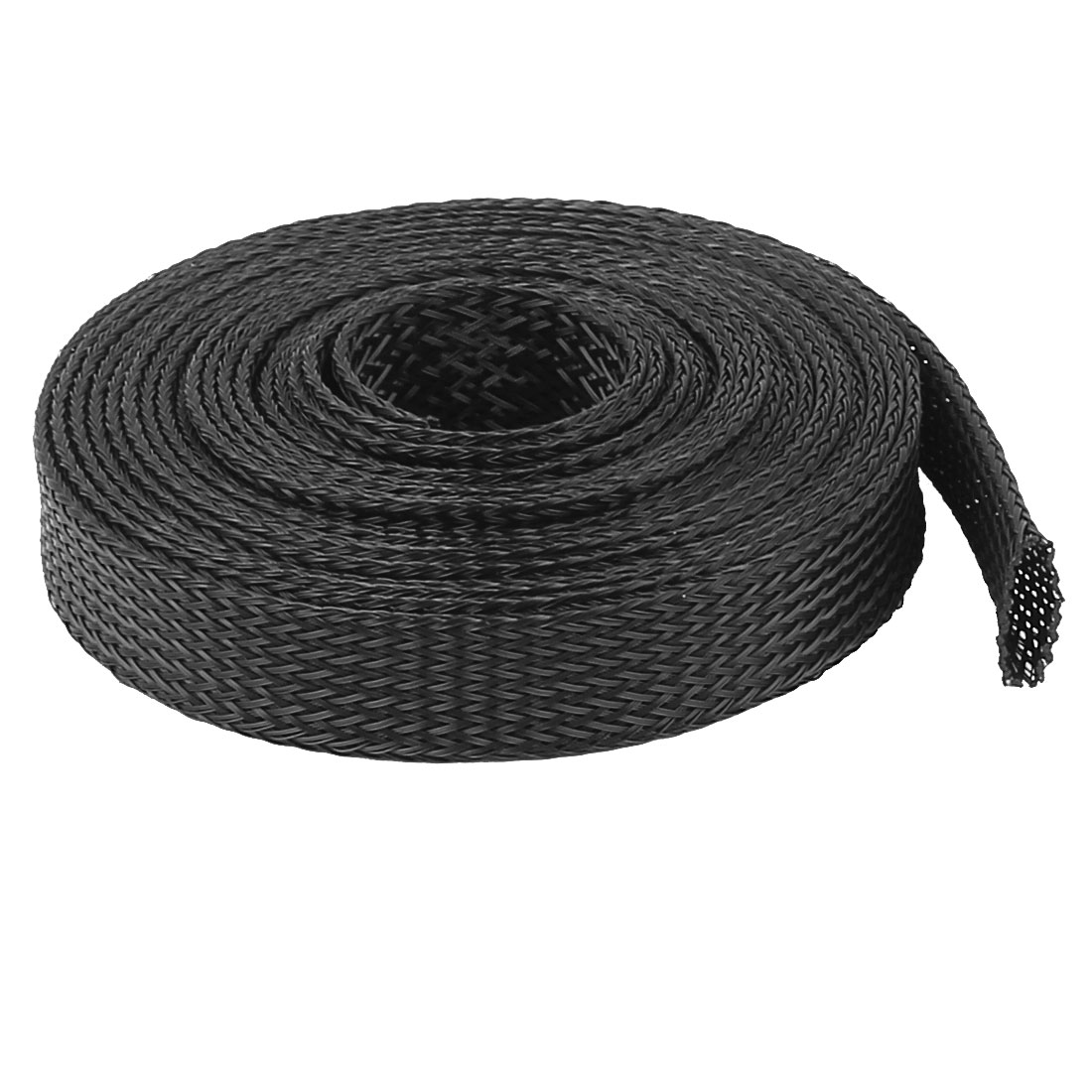 Uxcell Od 12Mm Pet Cable Wire Wrap Expandable Braided Sleeving .10m3m4.9m