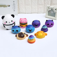 One Set Squishy toy Cute cat antistress ball Squeeze Mochi Rising Toys Abreact Soft Sticky squishi stress relief toys funny gift(China)