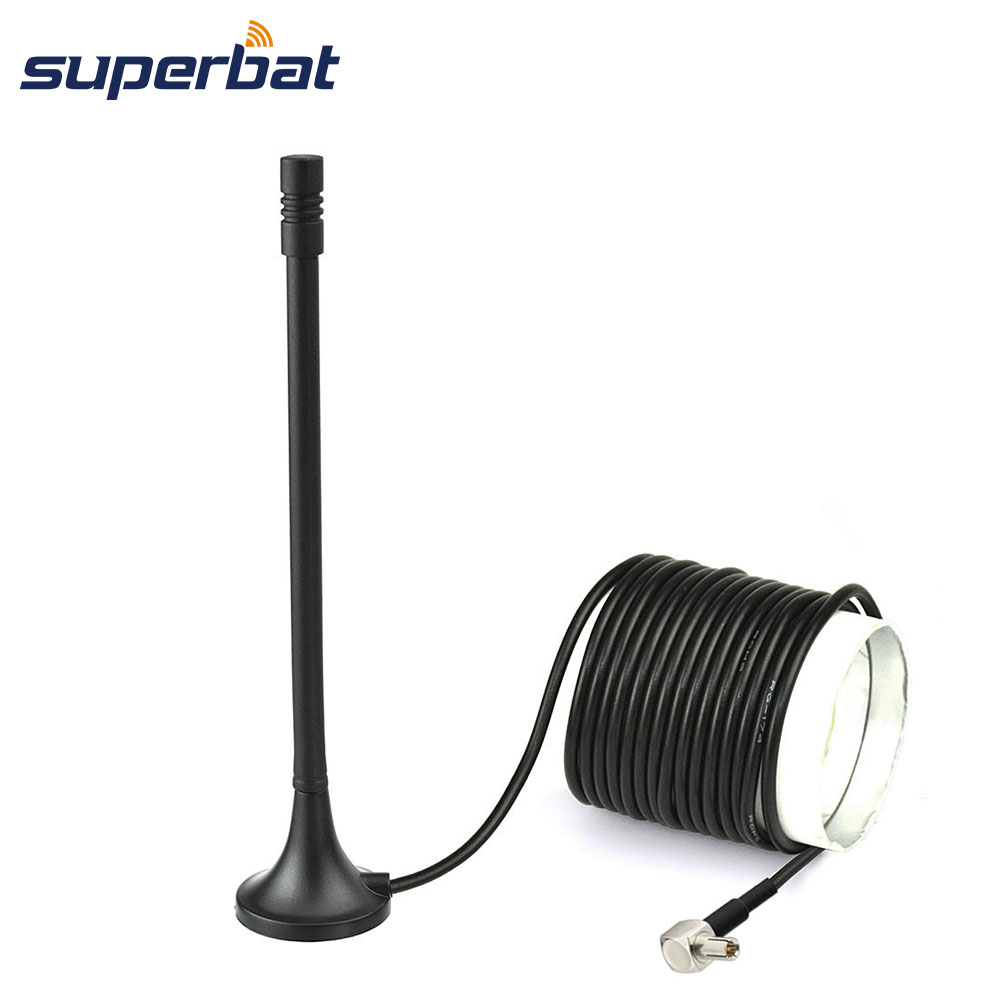 Superbat 4G LTE TS9 Antenna Magnetic Base For Huawei USB Modem Mobile WiFi Router Hotspot 3m Extension Cable