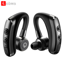 KOBWA K5, беспроводные Bluetooth V4.1, только наушники, гарнитура, спортивные наушники, стерео наушники для бега, музыкальные вкладыши с микрофоном для iPhone