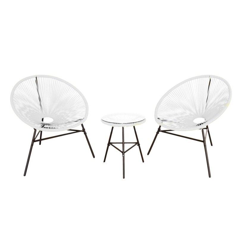 KieferGarden. Pack 2 ACAPULCO chairs. Garden Furniture. Outdoor furniture. Chairs Outdoor Garden. outdoor chair. garden chair-in Garden Chairs from Furniture