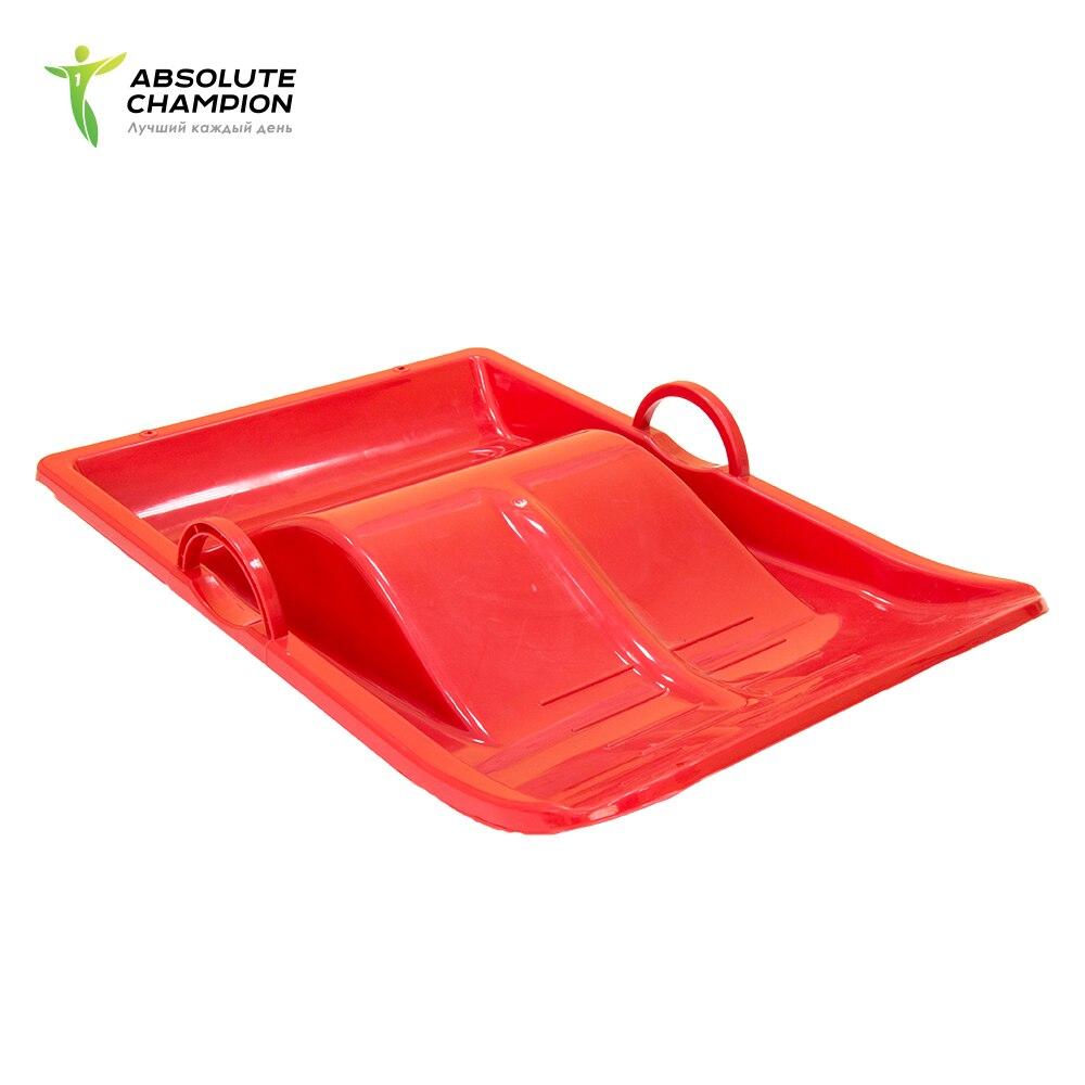 Lediankka plastic with handles - sleigh for slides children Absolute Champion