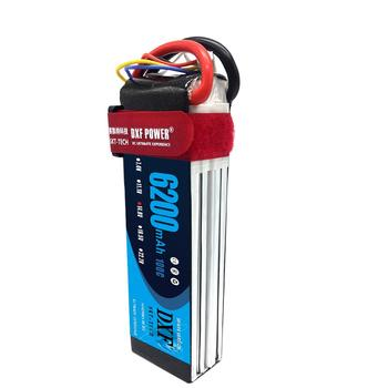 DXF 14.8V 6200mAh 60C 120C 4S RC Lipo Battery For Quadcopter Helicopter TRX Car axial scx-10 ii F450 Xmaxx HPI