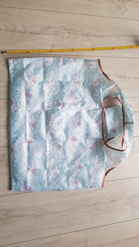 New My Melody   Pudding Cinnamoroll Dogs Foldable Handy Shopping Bag Reusable Tote Home Storage Organizer Handbag photo review