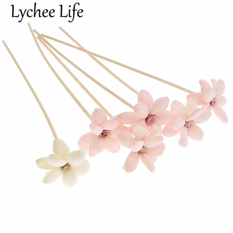 5pcs 3mm Reed Diffuser Replacement Stick Water Lily Rattan Reed Oil Diffuser Refill Stick DIY Handmade Home Decor