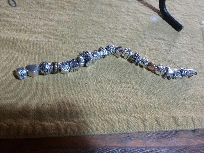 Пункт Форма:: Круглая Форма; Материал:: Кристалл; браслет Пандора серебро; бусина Пандора;