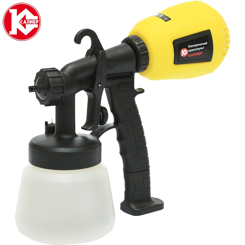 Kalibr EKRP-350/2.6M Electric Spray Gun Latex Paint Airbrush Paint Spray Gun thickness gauge diagnostic tool ultrasonic paint coating thickness gauge digital automotive coating ultrasonic paint iron meter