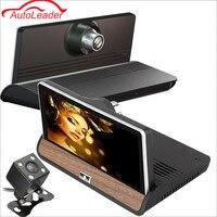 7 Wifi Car DVR Camera Android 4 4 GPS Navigation Video Recorder Bluetooth Dual Lens Camcorder