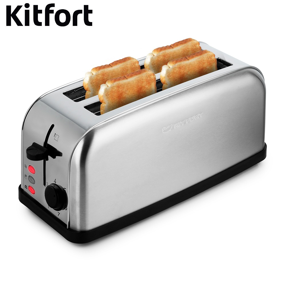 Toaster Kitfort KT-2015 Toaster Kitfort sandwich home kitchen appliances cooking fry bread to make toasts Bread Maker grill free shipping fashion toaster