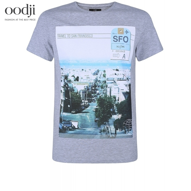 74b9f4316 oodji 2017 urban tshirt print free shipping across Russia ...