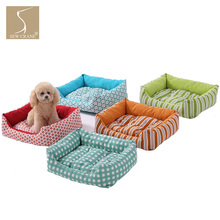 SewCrane Durable and Fashionable Pet Cuddle Cushion Dog Sleeping Bed Cat Sleeping Bed, Red and Black hanging cat cuddle pod