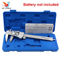 QSTEXPRESS Industrial IP54 Digital Caliper 0-150mm 0.01 Stainless Steel Electronic Vernier Calipers Metric Inch Measuring Tools