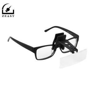 Folding Eyeglasses Clip On Fli