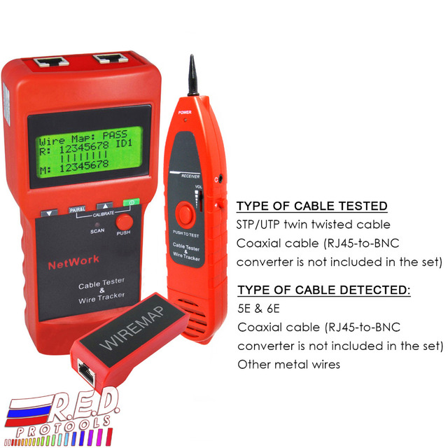 multipurpose digital network lan cable wire length line tester 5e 6e rh aliexpress com