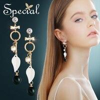 Special Vintage Big Stud Earrings Waterdrop Gold Ear Pins AAA Zirconia Bohemian Earrings New Jewelry Gifts for Women S1874E