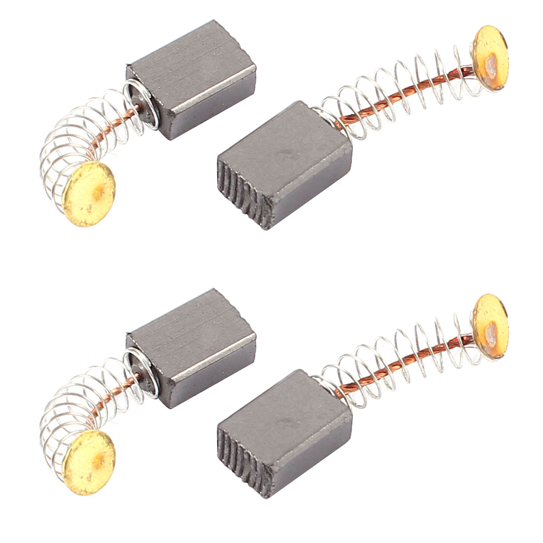Dmiotech 4 Pcs Carbon Electric Motor Brushes 11Mm X 8Mm X 5Mm For  Drill Screwdriver 20pcs 5x10x19mm electric motor graphite carbon brushes springs