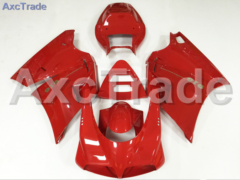 Motorcycle Fairings Kits For Ducati 748 916 996 998 1996-2002 96 - 02 ABS Injection Fairing Bodywork Kit Red A498 abs fairing kit for ducati 748 916 996 998 03 04 05 ducati 748 916 996 998 2003 2004 2005 red white fairings set 7gifts dc10