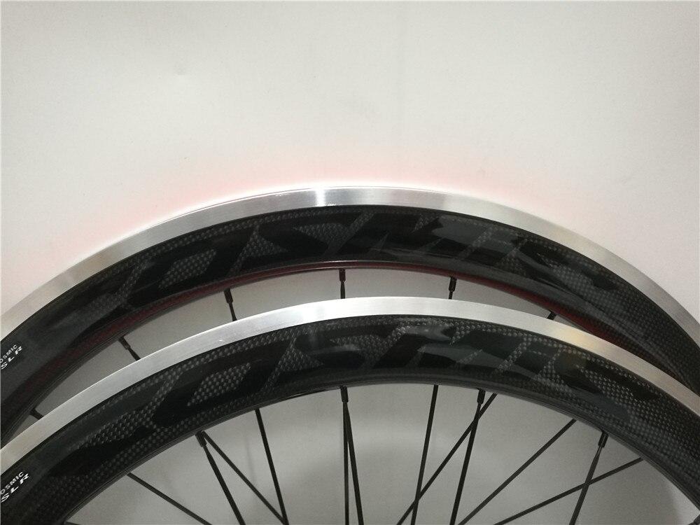 700C Лидер продаж road колёса для велосипеда тормозная поверхность алюминий черный логотип 38mm50mm 3 К к углерода волокна Керамика Подшипник