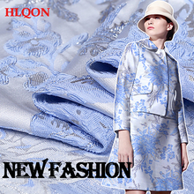 High quality occident style brocade jacquard stereoscopic fabric used for dress women clothing