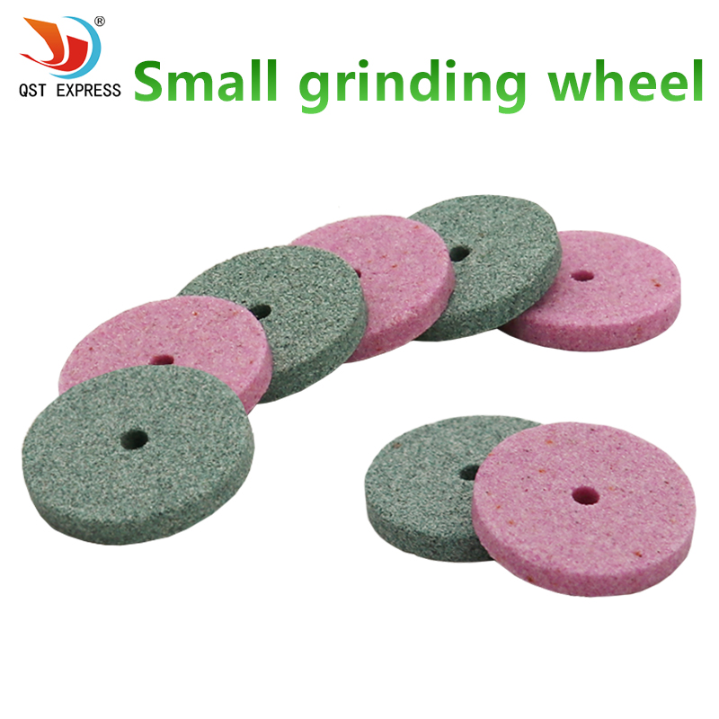 50pcs Dremel Accessories 20mm Mini Drill Grinding Wheel/Buffing Wheel Polishing Pad Abrasive Disc For Bench Grinder Rotary Tool 110 230v mini grinder electric dremel drill engraver regulating speed grinding machine for milling polishing dremel accessories