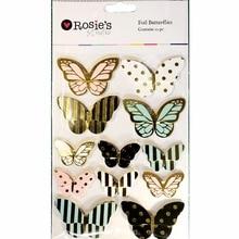 CRZCrafter wedding decoration Cardboard Butterflies Sticker 3D Self adhesive Scrapbooking Journal Cardmaking embellishments
