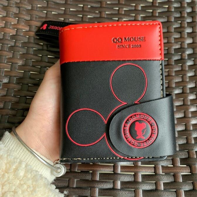 Women's Wallet Female Purses Cute Leather Tassel Credit Card Holder Coin Carteria feminina portefeuille femme Cartoon Mouse Girl photo review