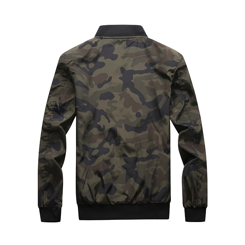 94f3a47c9b409 DIMUSI Mens Camouflage Bomber Jacket Men Spring Autumn Windbreaker Coats  Casual Camo Coats Male Outwear Brand Clothing 7XL,TA134-in Jackets from  Men's ...