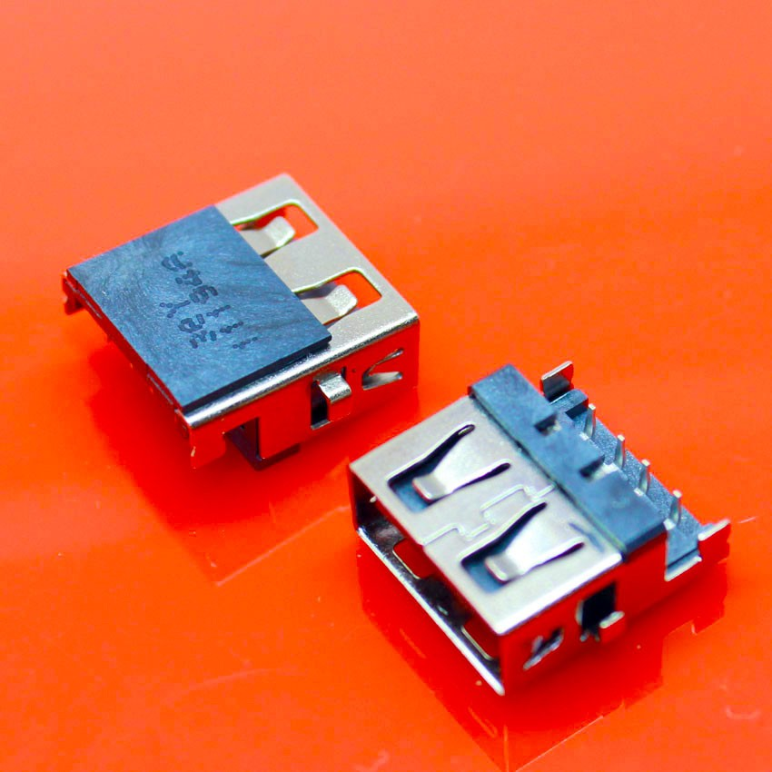 2PCS - 100PCS  new laptop USB connector USB Jack for Lenovo E46A E46L HP G4 G6 G7 Samsung etc USB Port 2.0 USB Interface 1pcs lot 2 0 usb jack connector for lenovo laptop tablet etc usb port 4pin smd us 063