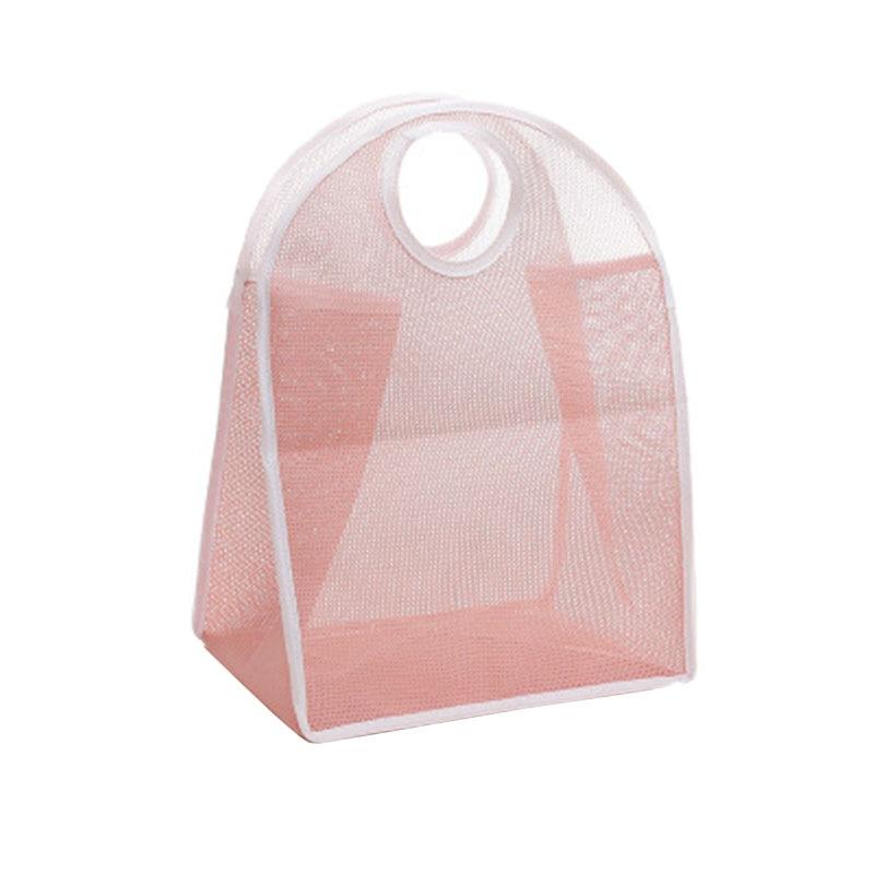 New Nylon Storage Basket Large Capacity Storage Bag Foldable Swim Shopping Storage Bag Household Storage Organizer