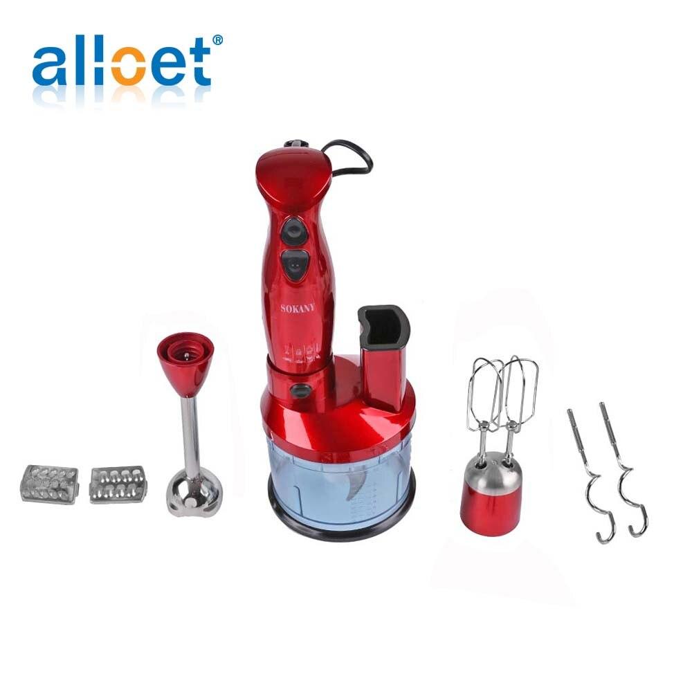 600W multifonctionnel ménage électrique portable mélangeur alimentaire bébé complément alimentaire mélangeur broyeur presse-agrumes cuisine outil Promotion