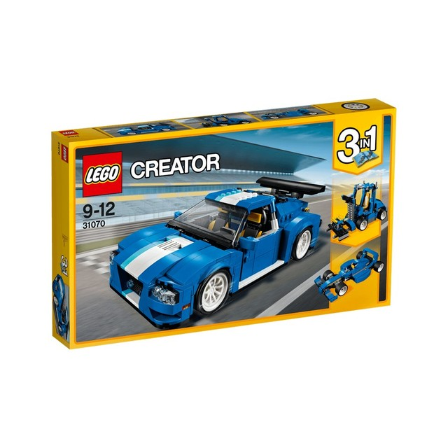 Конструктор LEGO CREATOR Гоночный автомобиль 31070-L