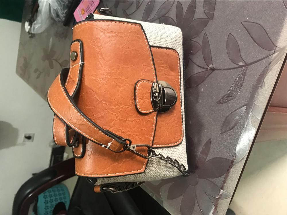 Women Handbag New Fashion Messenger Bags Brand Style PU Leather Bags Female Shoulder Bag Small Cross body bags Satchel photo review