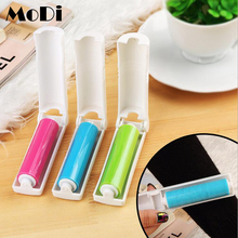 MoDi Portable Washable Magic Dust Brush Pet Hair Remover Double Sides Anti-static Hair Brush Clothes Lint Sticking Roller