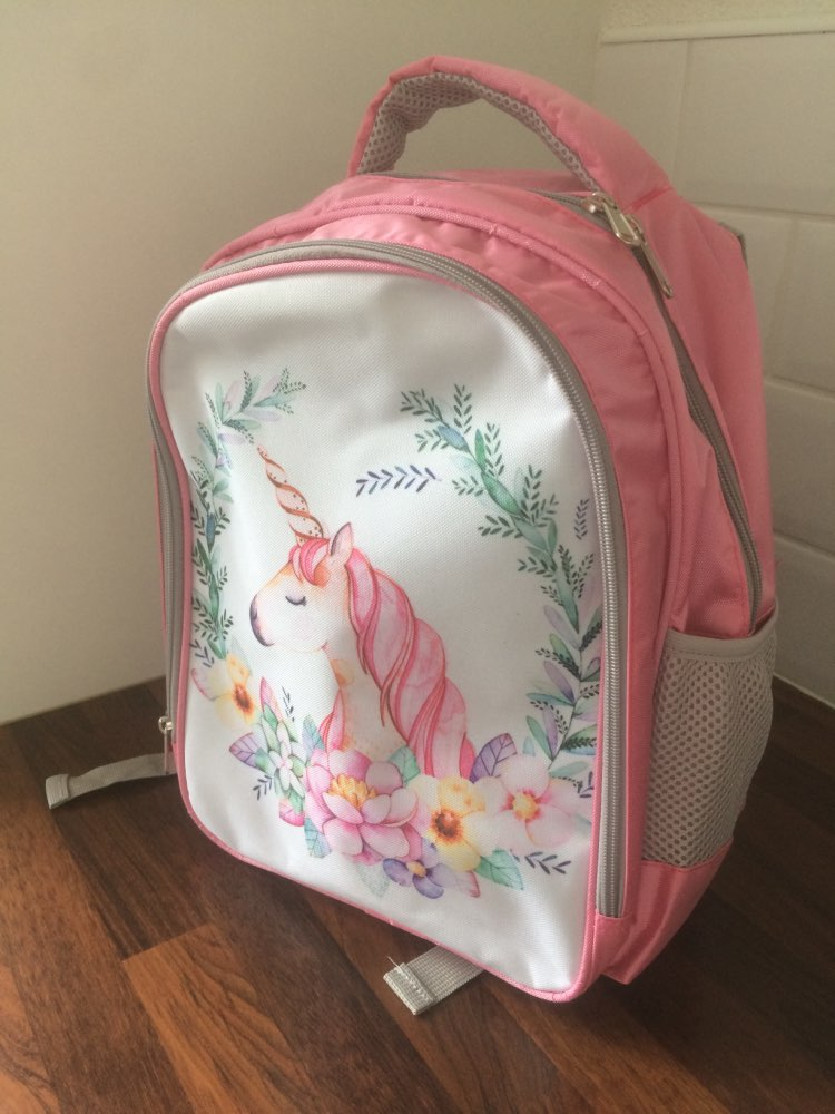 Unicorn Backpack School Backpack photo review