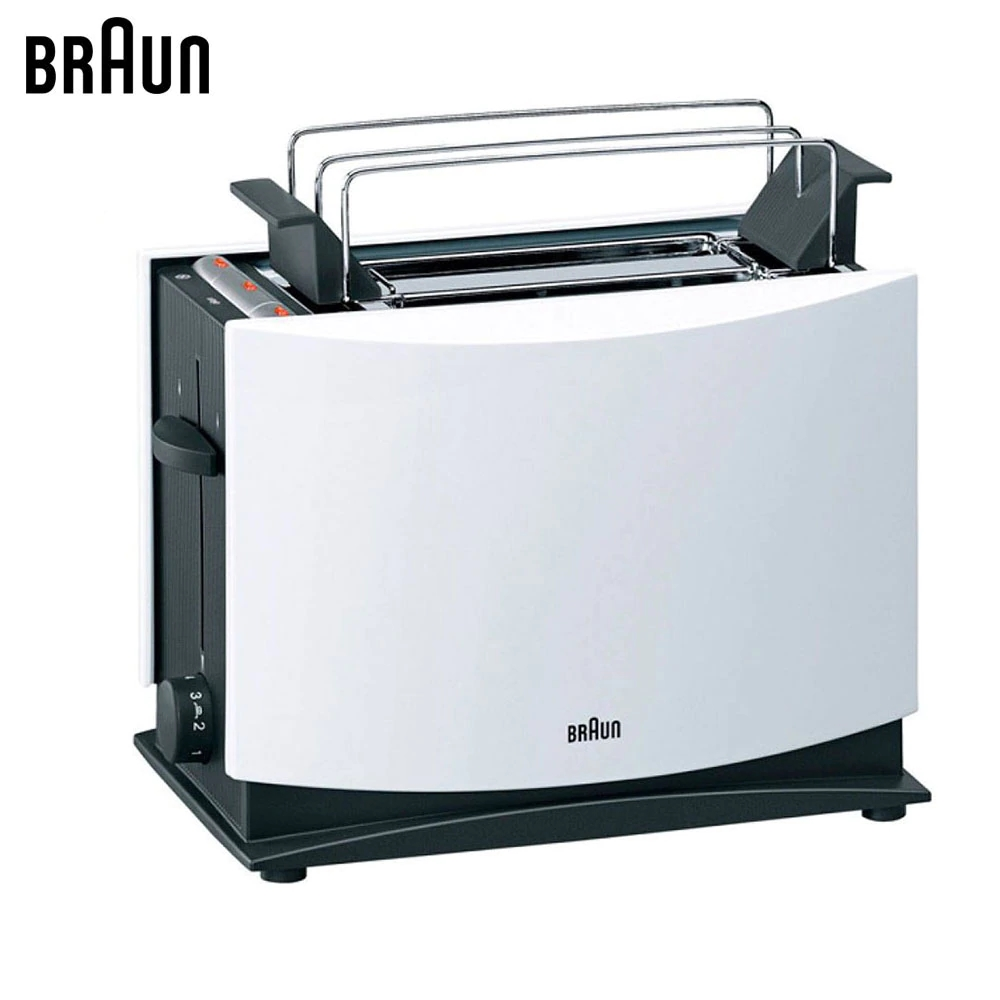 Toasters Braun MultiToast HT450WH sandwich maker bread toaster
