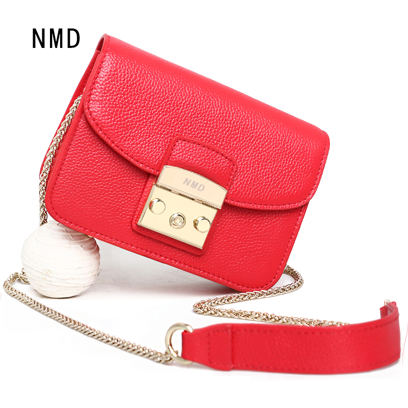NMD 2018 New Fashion High Quality Genuine leather Shoulder Bags Women Famous Brand Luxury Handbags Woman Bags Designer Totes fashion luxury genuine leather lady bags girls chains bag famous brand shoulder bags woman handbags women bags designer totes
