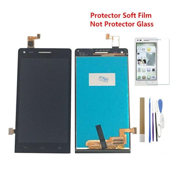 """4,5 """"для Huawei Ascend G6 G6-U10 P7 Мини ЖК-дисплей с сенсорным сенсором стекло дигитайзер сборка черный белый цвет с комплектом"""