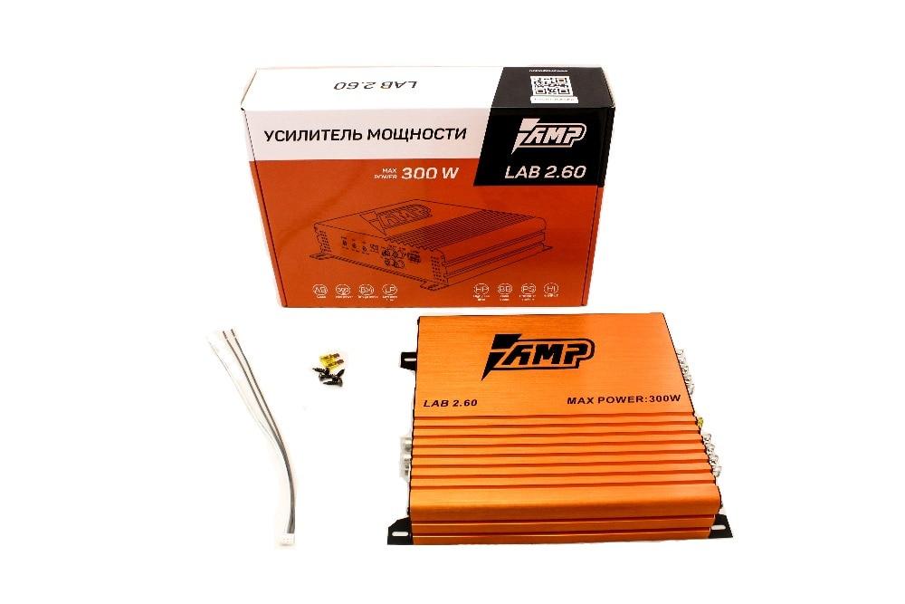 Amplificateur de voiture haut-parleurs Audio de basse amplificateurs Audio de voiture caisson de basses ampli LAB 2.60 DC 12 V 300 watts son Hi-Fi