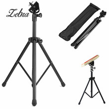 Adjustable Metal Practice Training Three-legged Drum Pads Cymbal Stand Hardware Mount Braced Drum Holder Tripod with Bag Parts