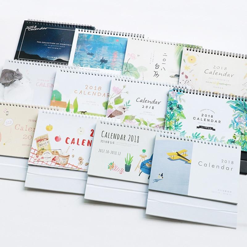 2017,10 2018 Druck Kalender Tischkalender 2018 Planer Arbeit ...