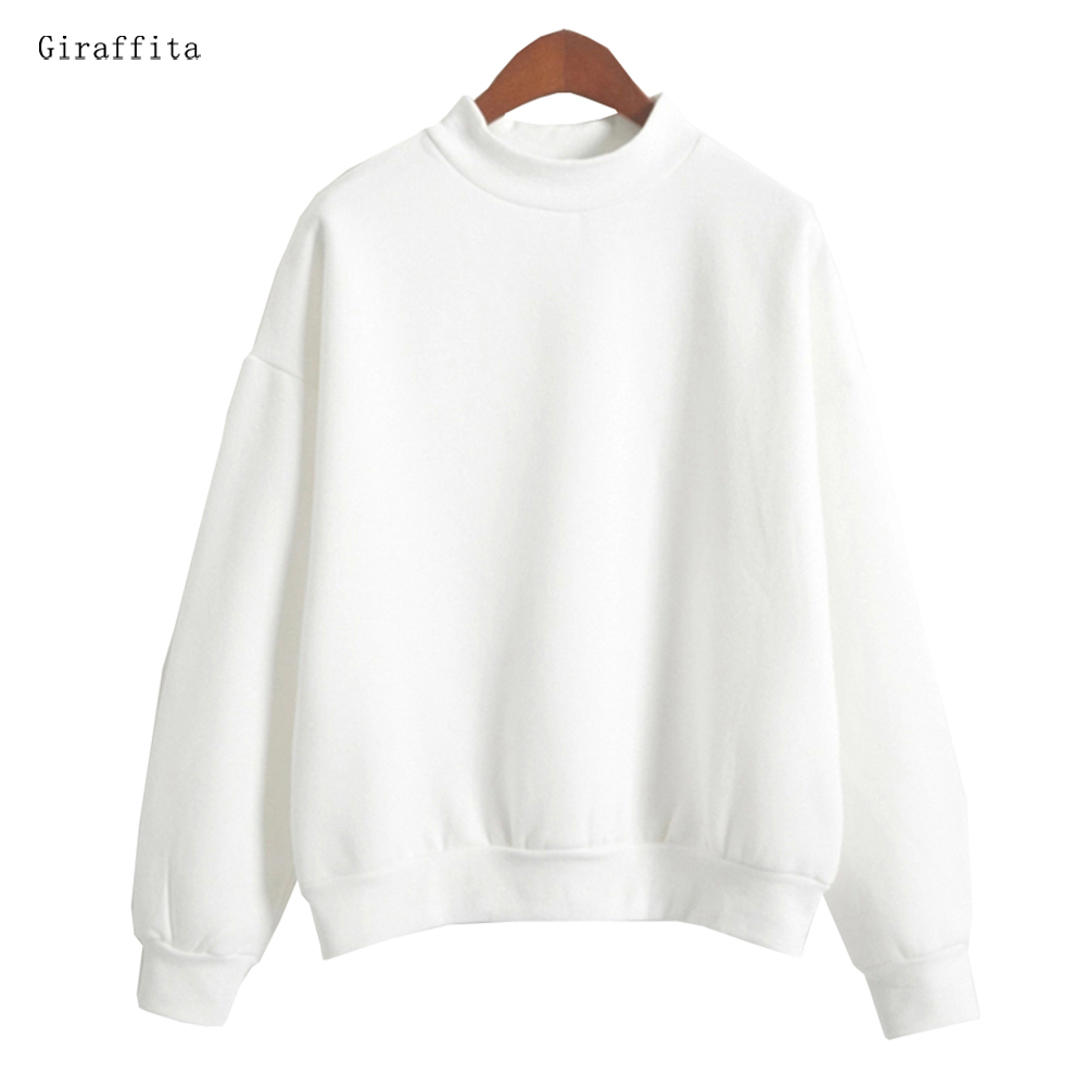 Giraffita Amazing Folding Hot Sell Women Hoodies Casual Hoodies Coat Outfit Tops Sweatshirts 4 Colors