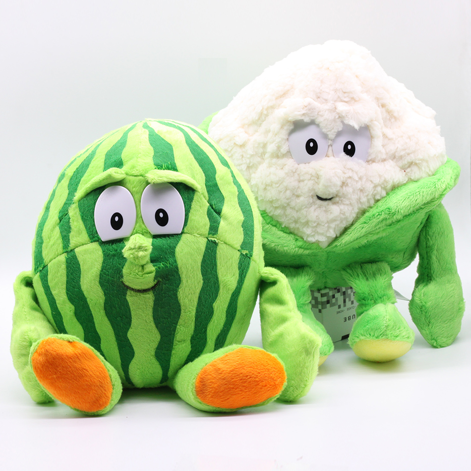 New fruits vegetables cauliflower mushroom plush fruits vegetables Pumpkin Plush Doll Starwberry 9
