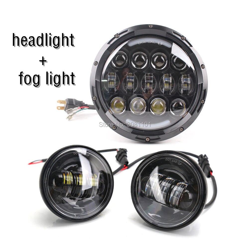 78 W LED Headlight 7