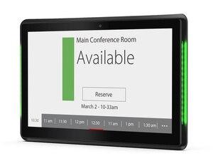 Image 5 - Pantalla de horario de sala de reuniones de código abierto de 13,3 pulgadas con barra LED (Android OSD 8,1, RK3288, wifi, ethernet con PoE)